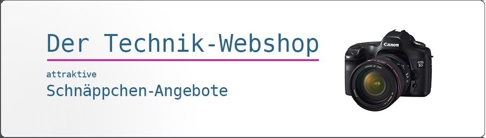 Technik Webshop